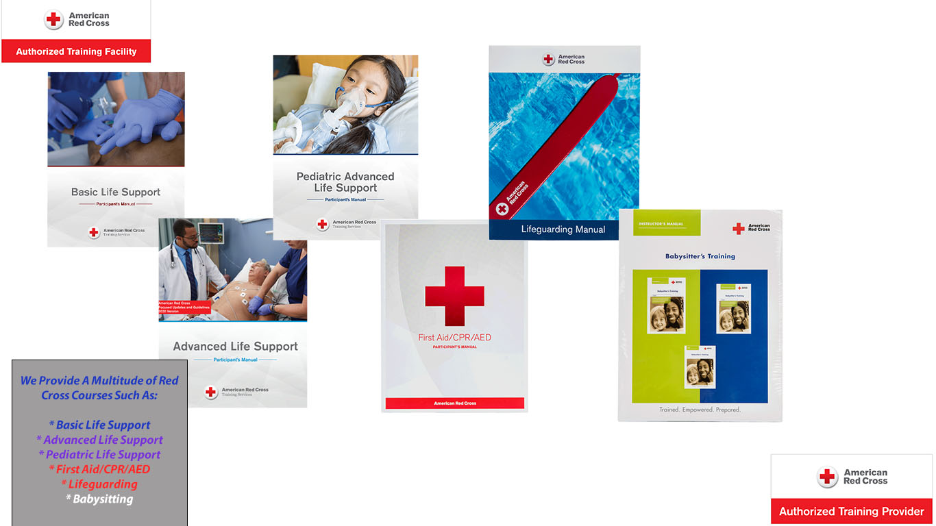 Book A Red Cross Course